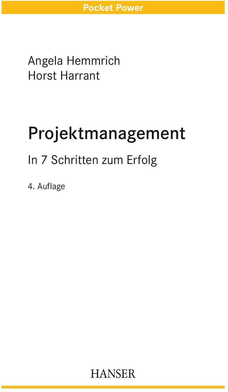 Projektmanagement In 7