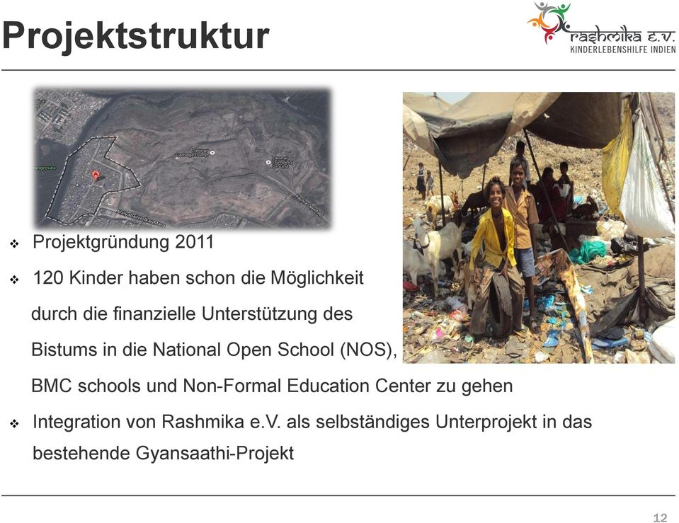 (NOS), BMC schools und Non-Formal Education Center zu gehen Integration von