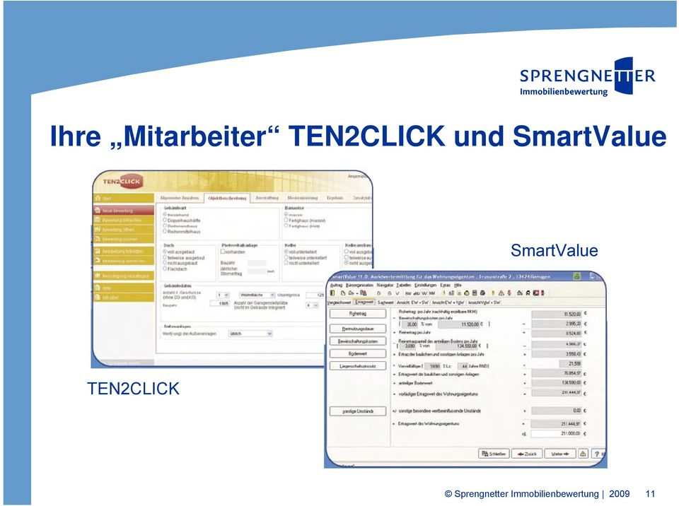 SmartValue TEN2CLICK