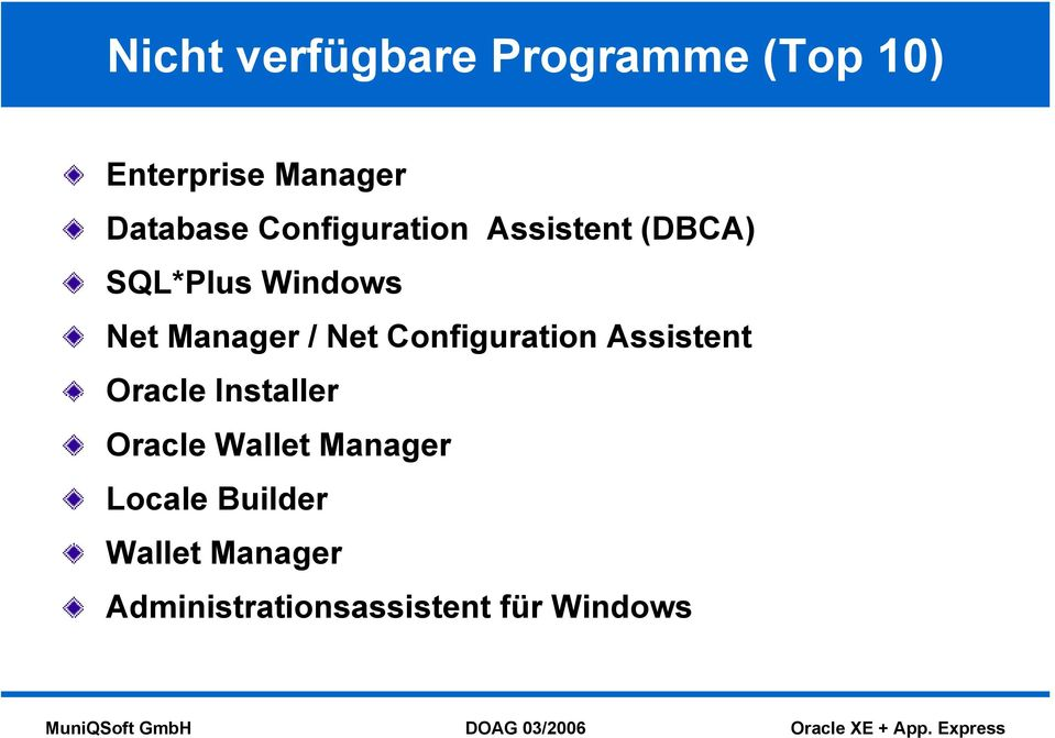 Net Configuration Assistent Oracle Installer Oracle Wallet