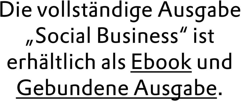 Business ist