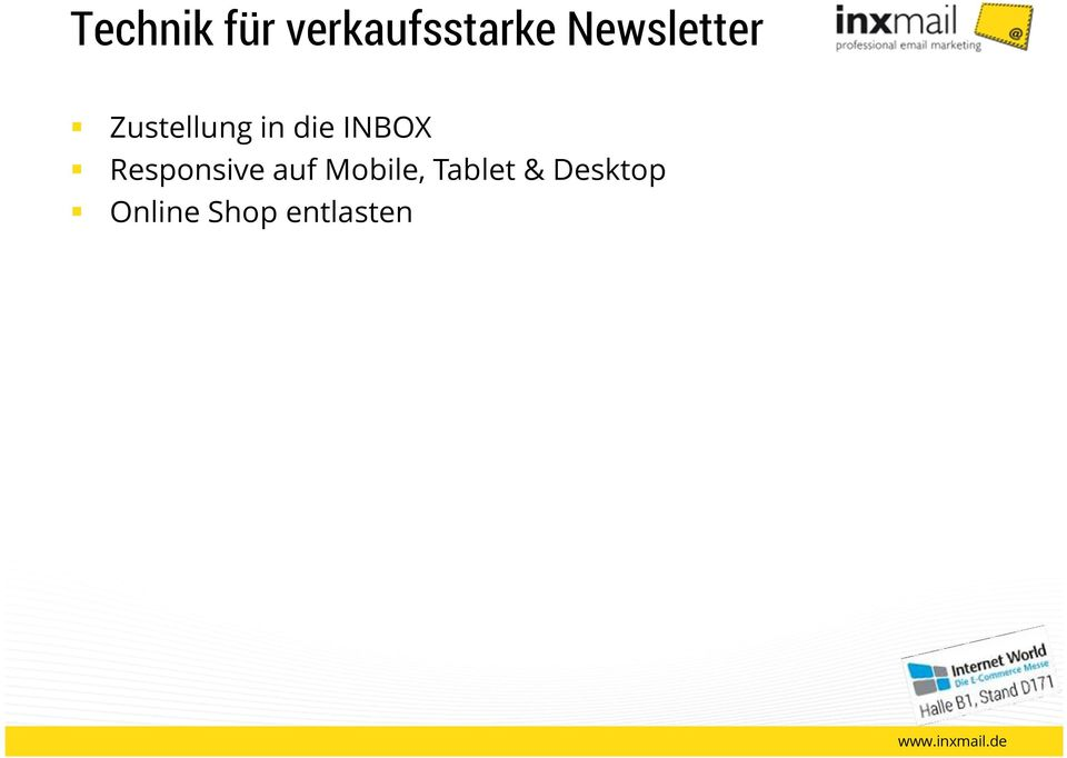 INBOX Responsive auf Mobile,