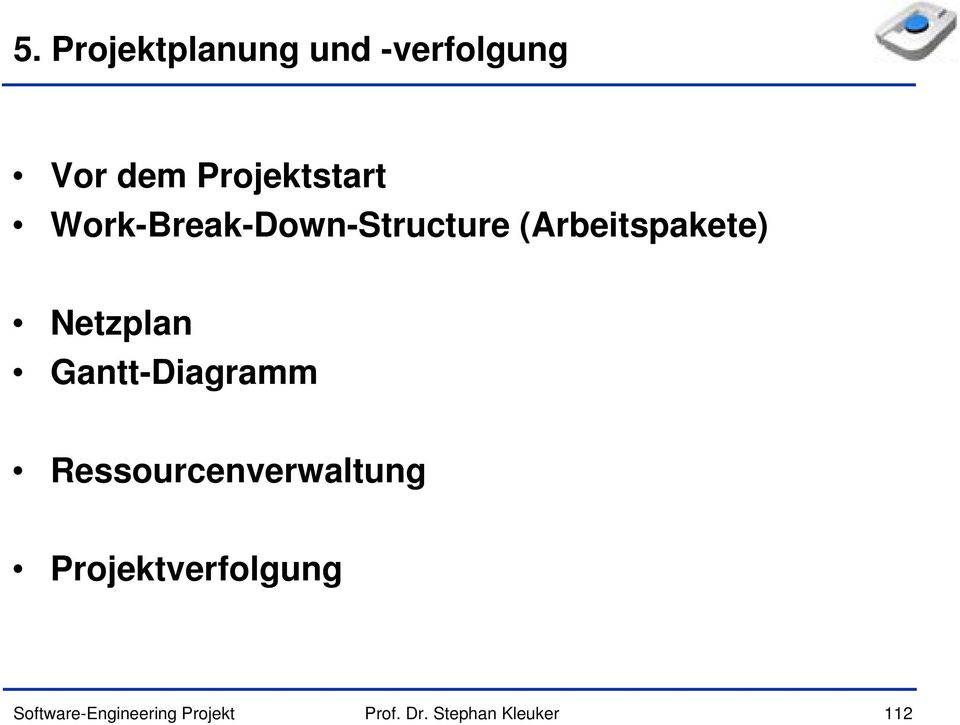 Work-Break-Down-Structure