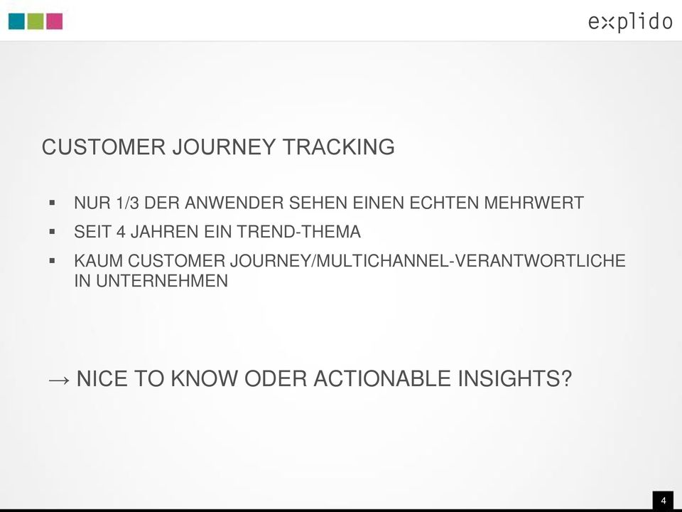 KAUM CUSTOMER JOURNEY/MULTICHANNEL-VERANTWORTLICHE