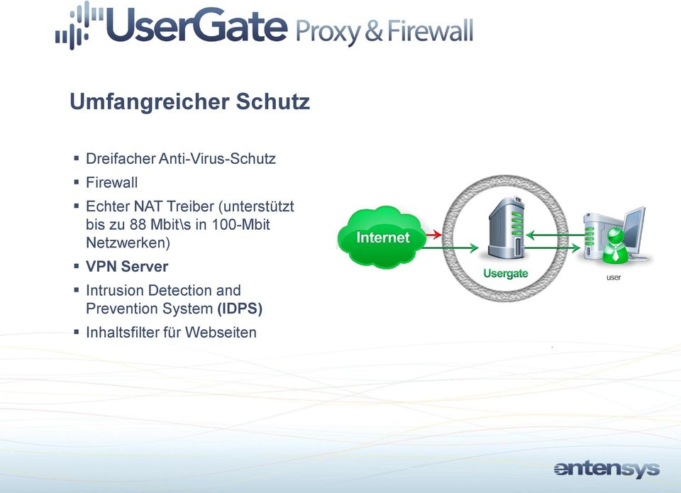 Mbit\s in 100-Mbit Netzwerken) VPN Server Intrusion