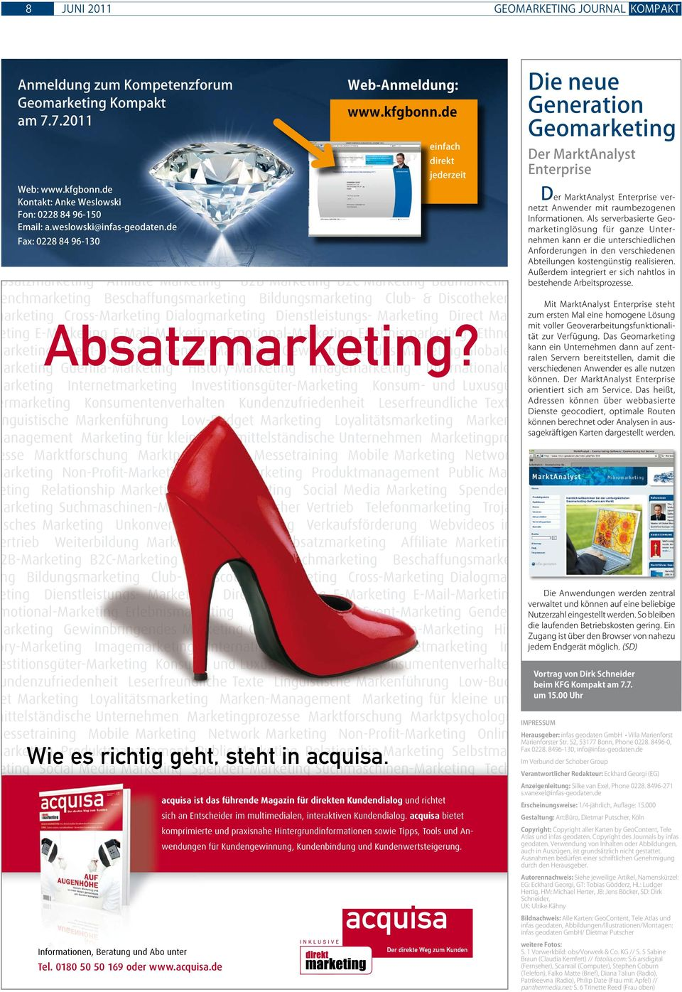 Dialogmarketing Dienstleistungs- Marketing Direct Marketing E-Marketing Absatzmarketing?