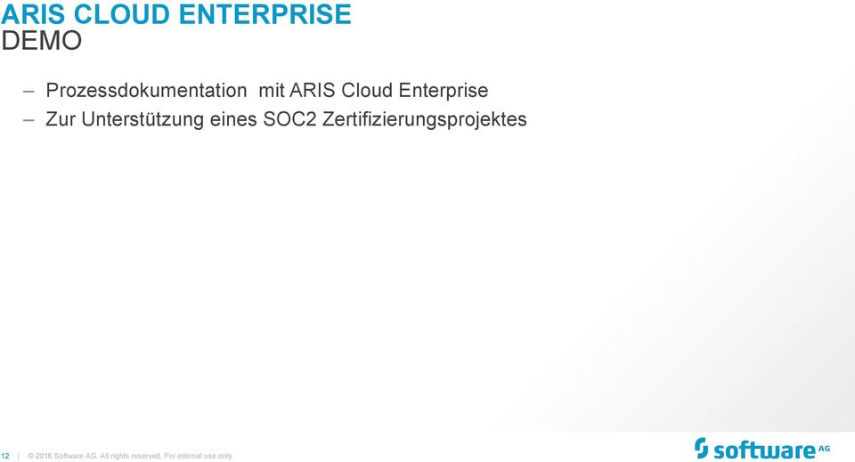 Cloud Enterprise Zur