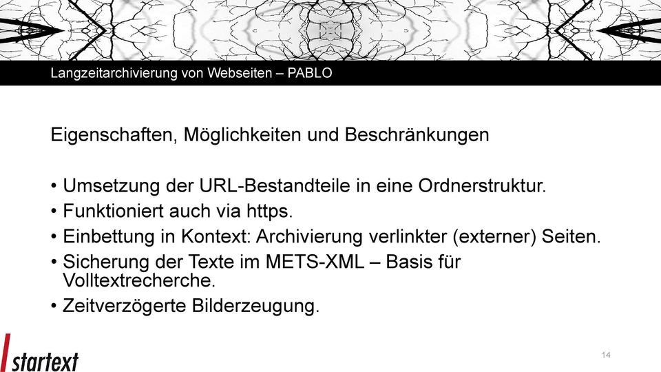 Funktioniert auch via https.