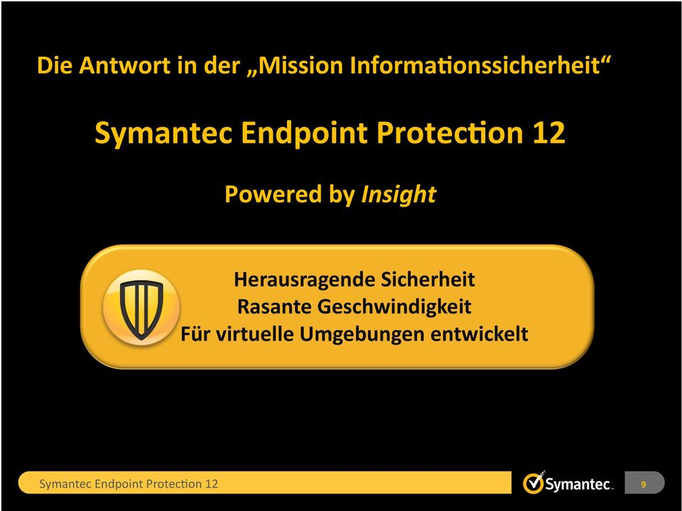 Protec1on 12 Powered by Insight Herausragende