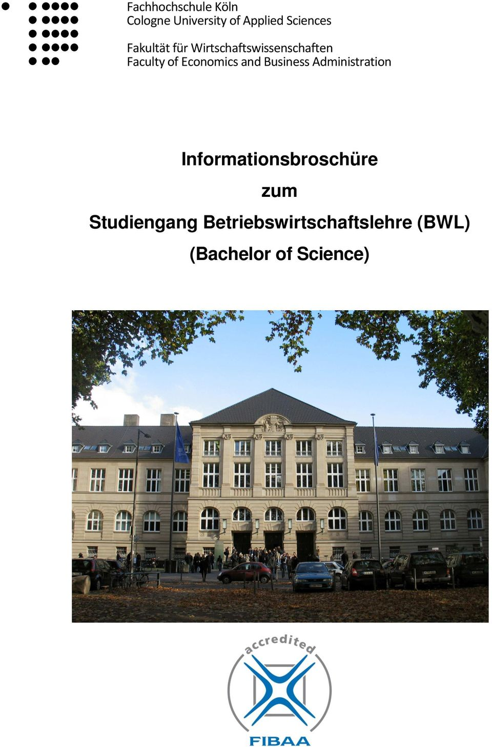 Wirtschaftswissenschaften Faculty of Economics and Business