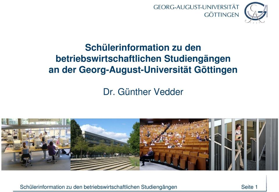 Georg-August-Universität i Göttingen Dr.