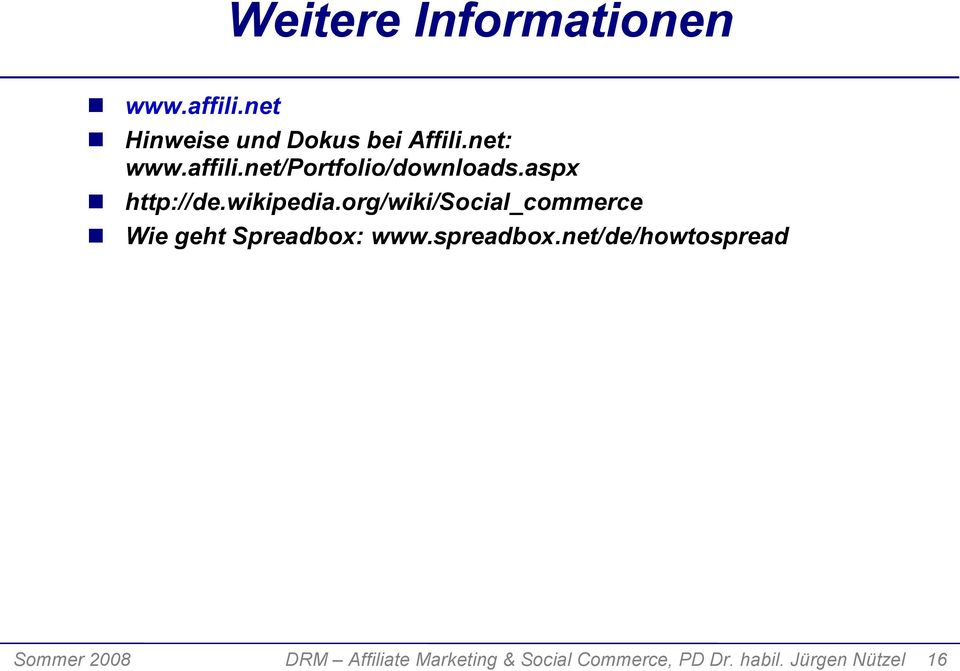 org/wiki/social_commerce Wie geht Spreadbox: www.spreadbox.
