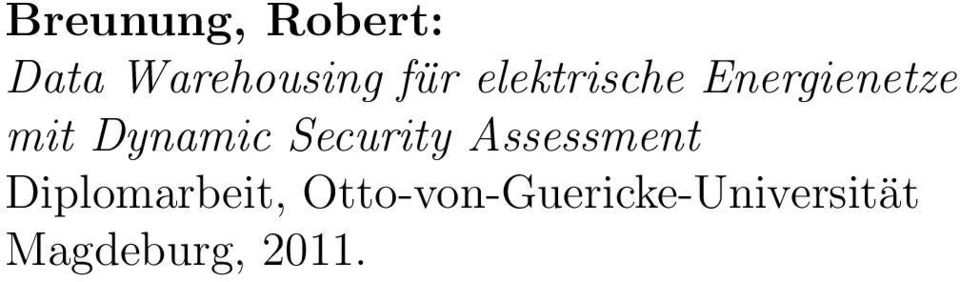 Security Assessment Diplomarbeit,