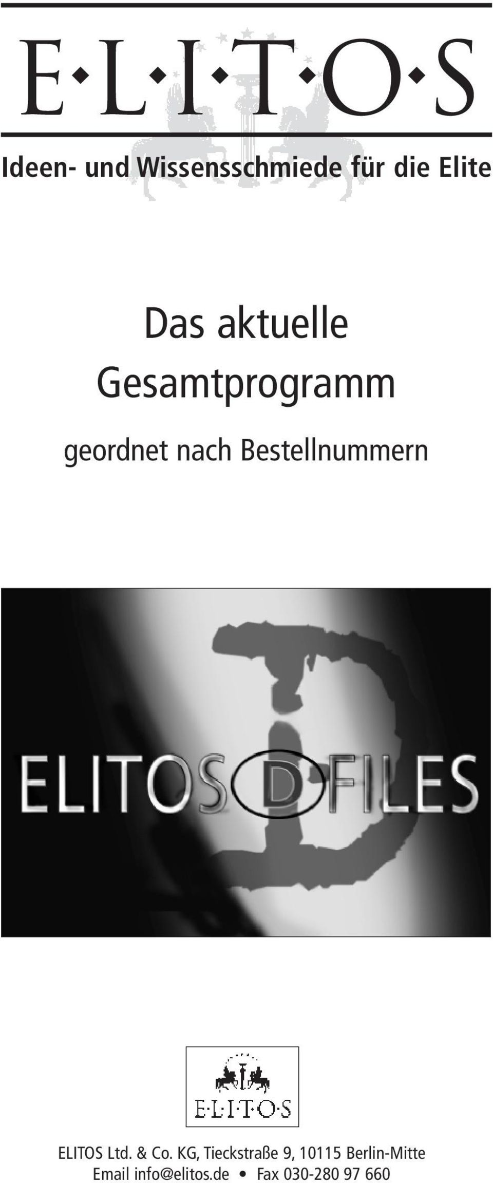Bestellnummern ELITOS Ltd. & Co.