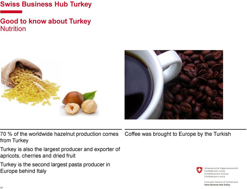 exporter of apricots, cherries and dried fruit Turkey is the second