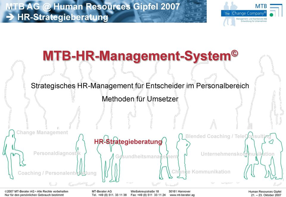 Management Personaldiagnostik HR-Strategieberatung Gesundheitsmanagement Blended