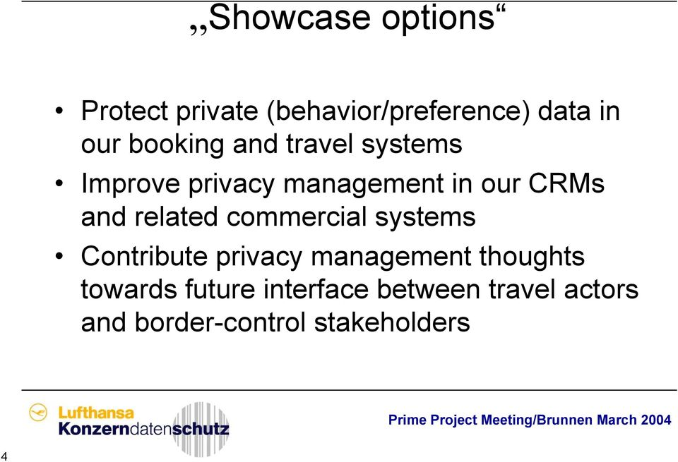 related commercial systems Contribute privacy management thoughts