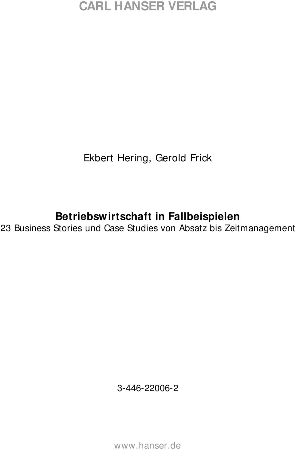 23 Business Stories und Case Studies von
