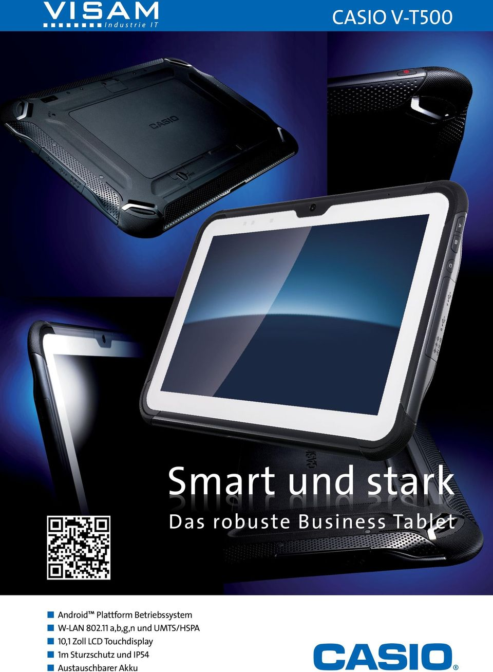 robuste Business Tablet n Android Plattform Betriebssystem
