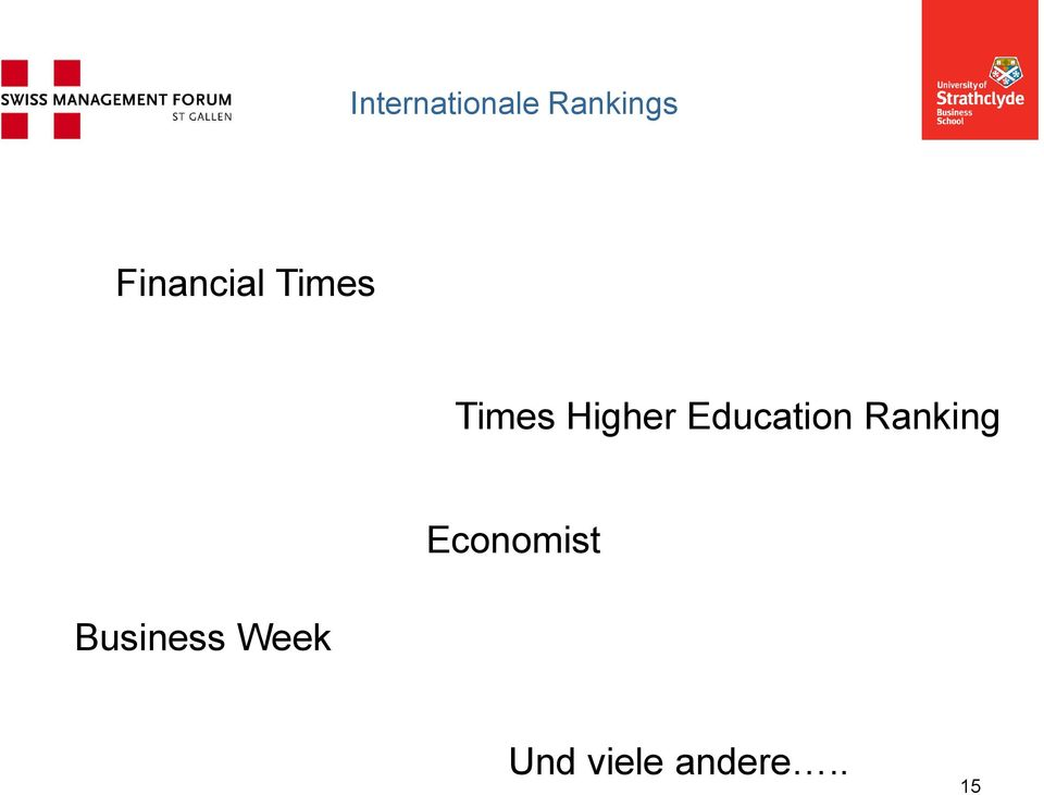 Education Ranking Business