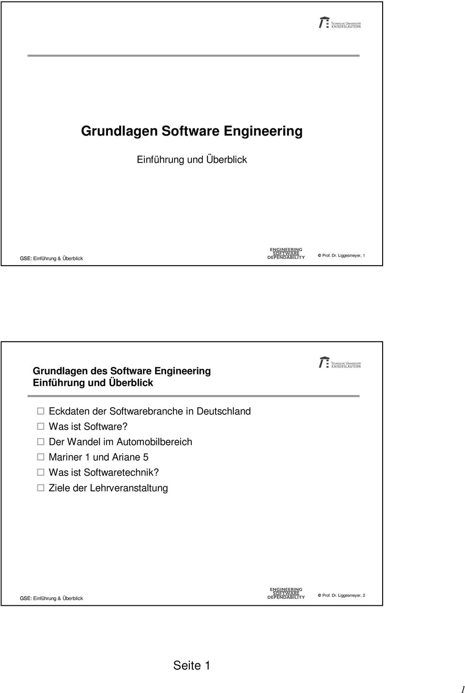der Softwarebranche in Deutschland Was ist Software?