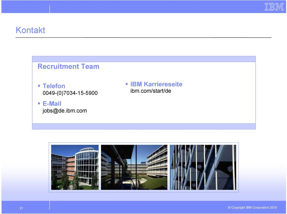 E-Mail jobs@de.ibm.