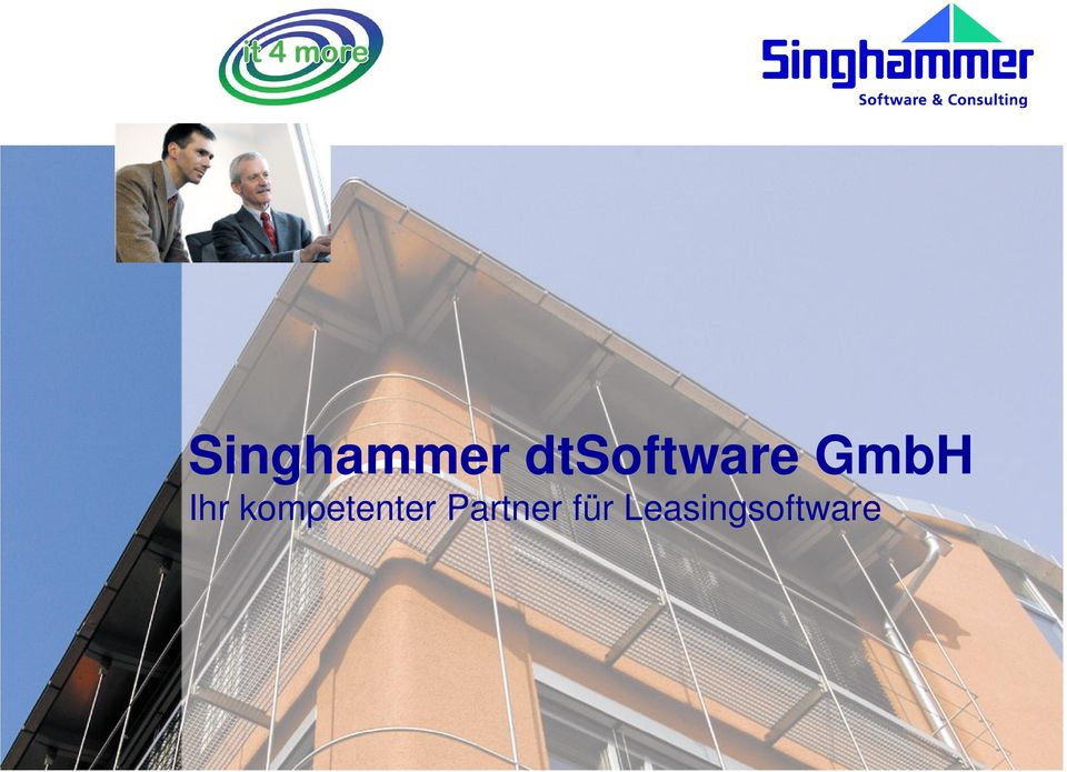 Leasingsoftware Singhammer