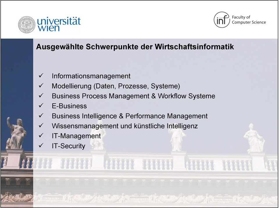 Process Management & Workflow Systeme E-Business Business Intelligence &