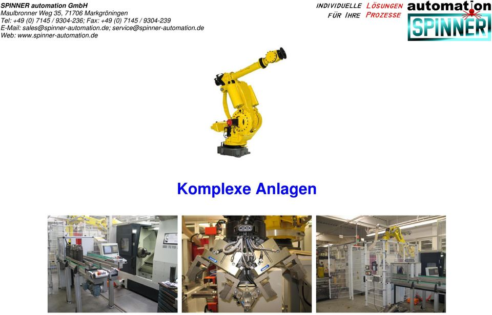 9304-239 E-Mail: sales@spinner-automation.
