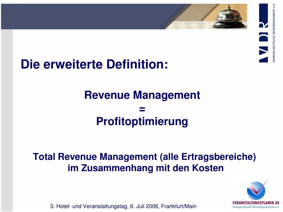 Total Revenue Management (alle