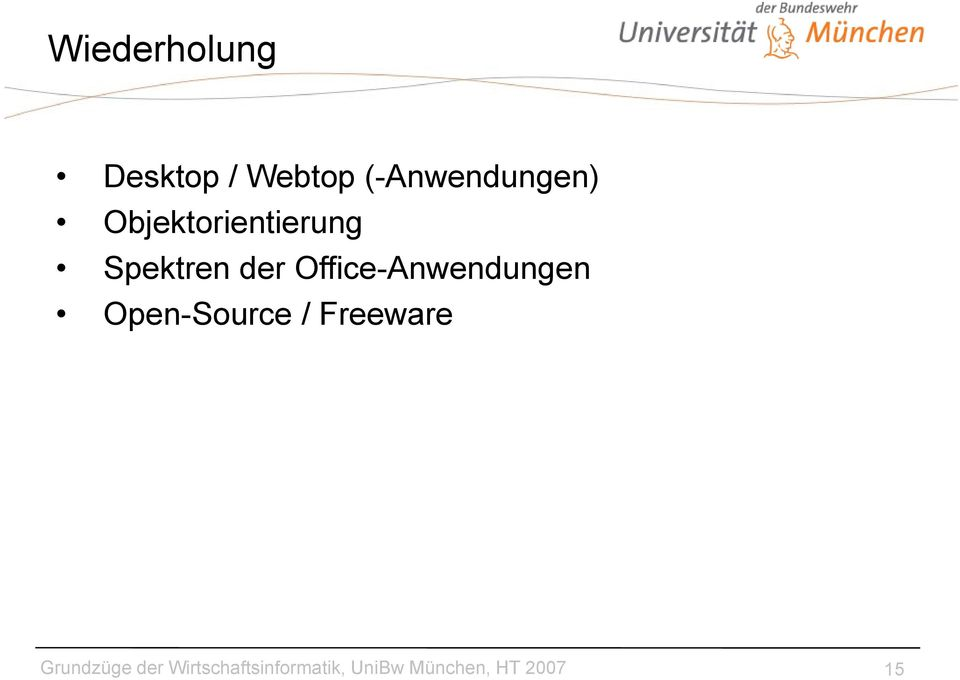 Office-Anwendungen Open-Source / Freeware
