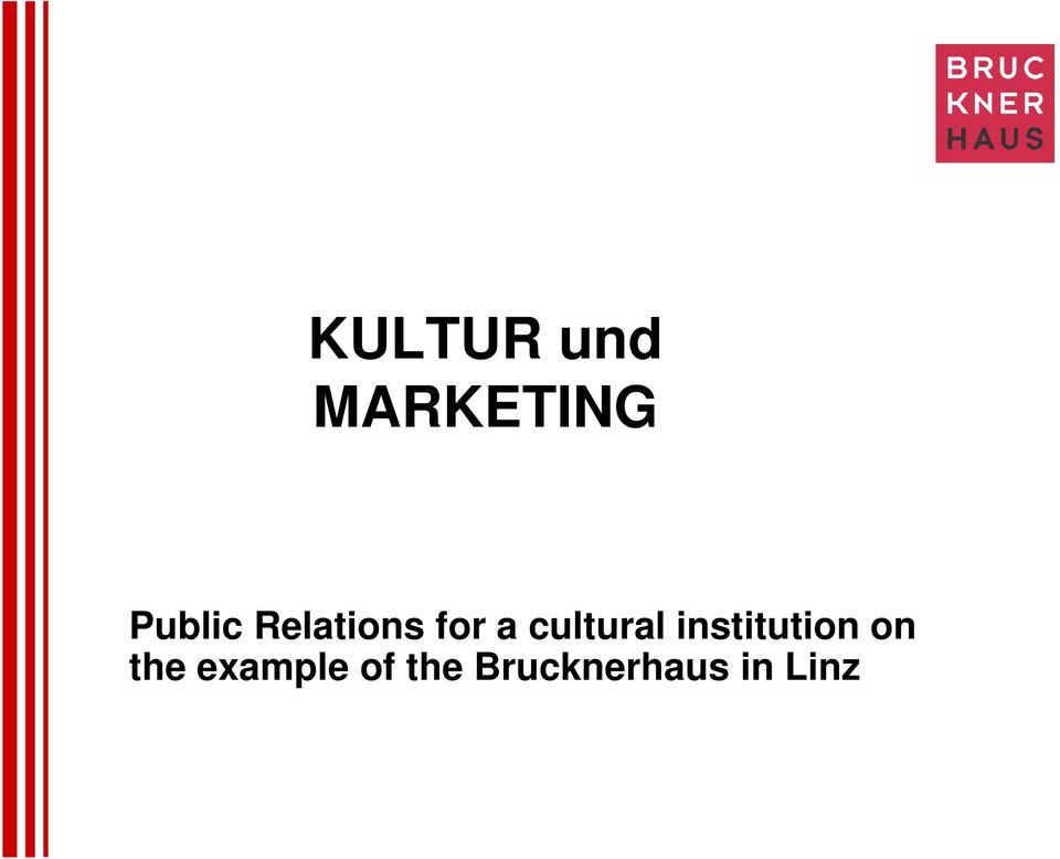 cultural institution on