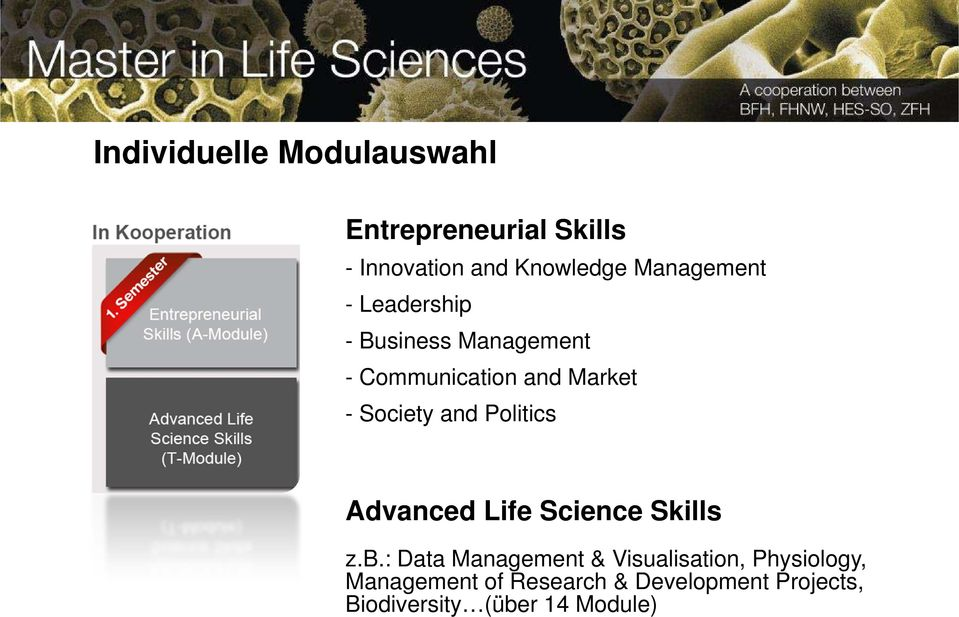 Society and Politics Advanced Life Science Skills z.b.