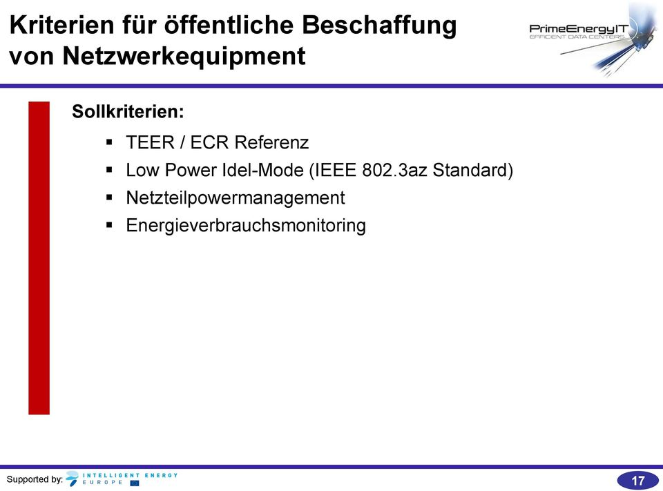 Referenz Low Power Idel-Mode (IEEE 802.
