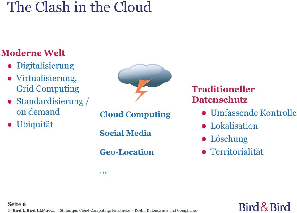 Ubiquität Cloud Computing Social Media Geo-Location
