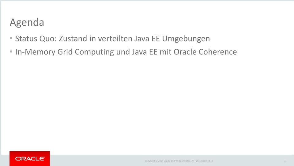 In-Memory Grid Computing und