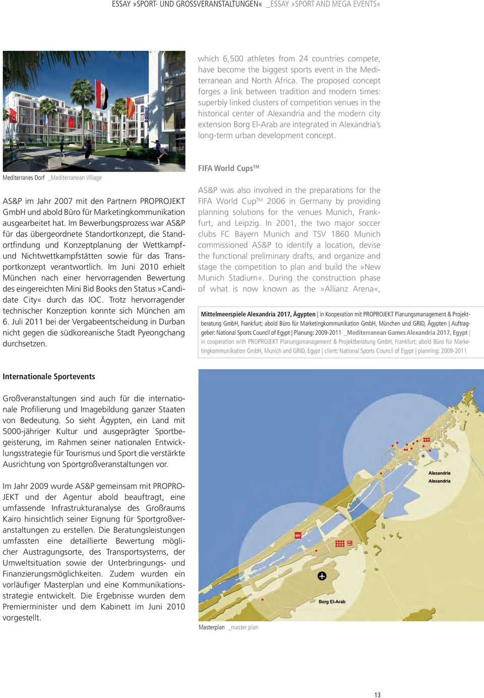 are integrated in Alexandria s long-term urban development concept.