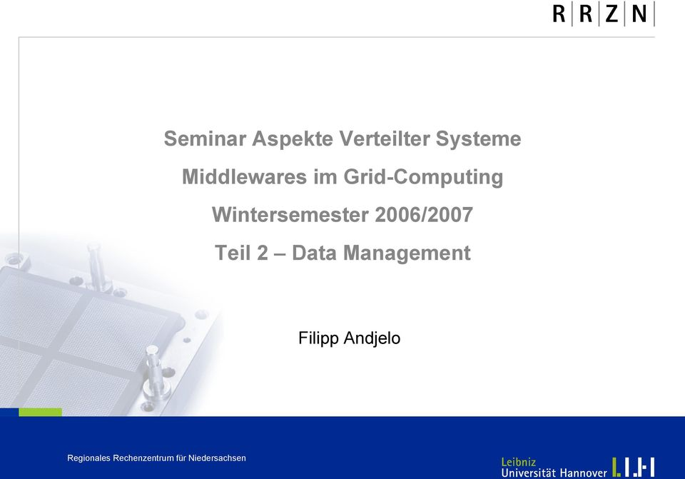 Grid-Computing Wintersemester