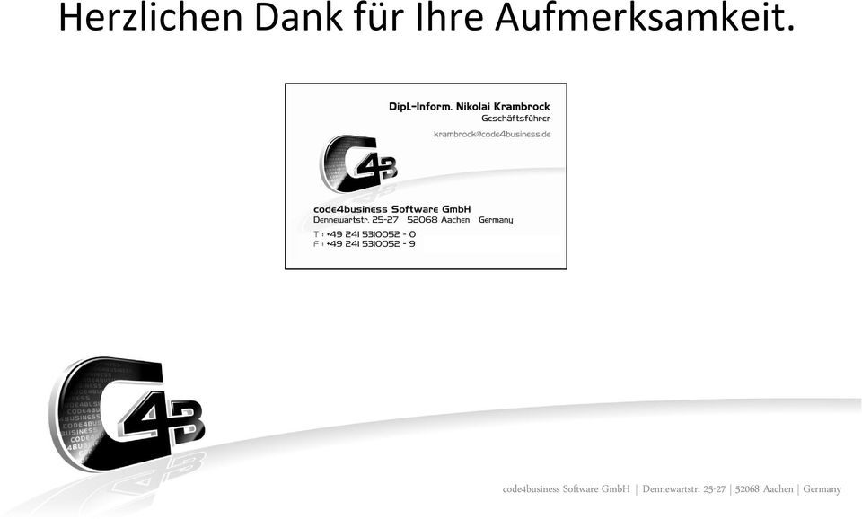 code4business Software GmbH
