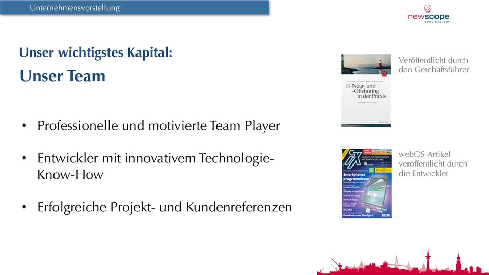 Team Player Entwickler mit innovativem Technologie- Know-How