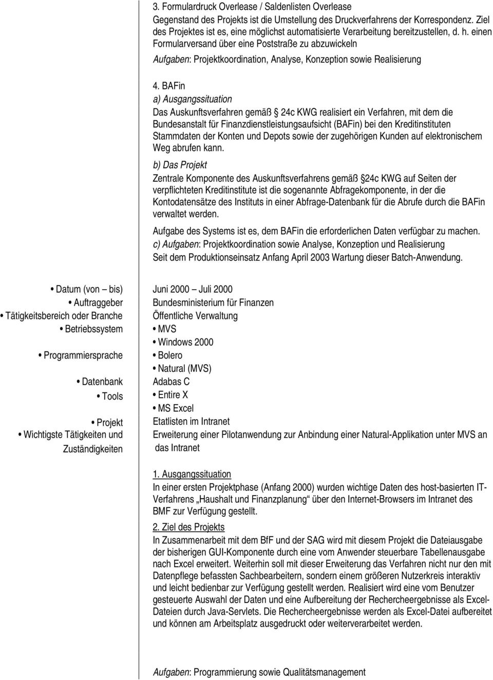Beste Werbeleiter Lebenslauf Stichprobe Galerie - Entry Level Resume ...