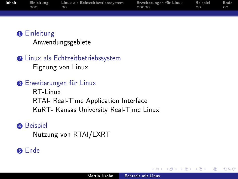 für Linux RT-Linux RTAI- Real-Time Application Interface