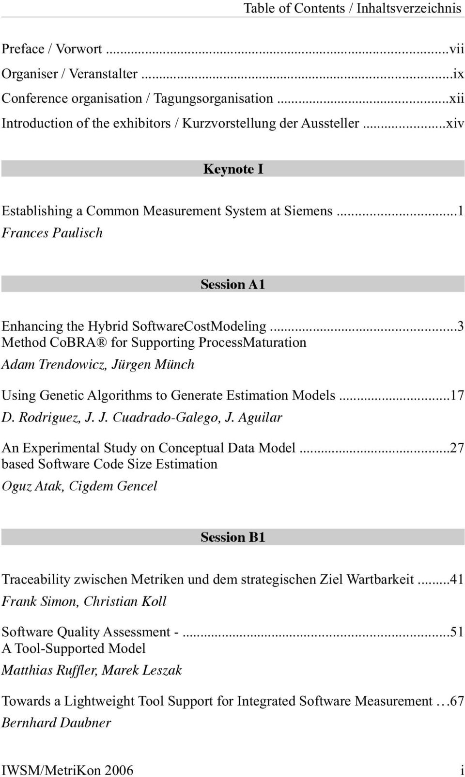 ..1 Frances Paulisch Session A1 Enhancing the Hybrid SoftwareCostModeling.