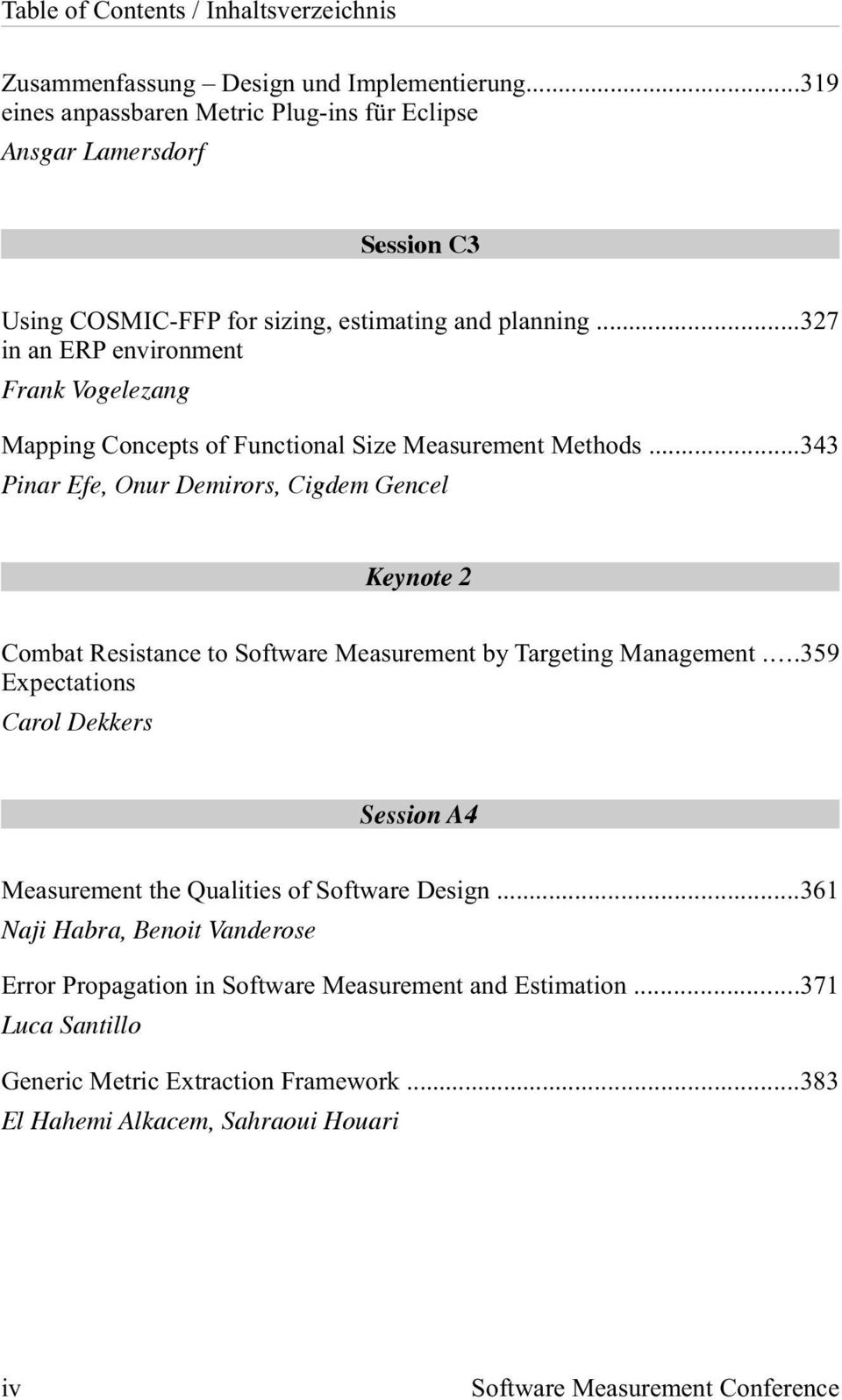 ..327 in an ERP environment Frank Vogelezang Mapping Concepts of Functional Size Measurement Methods.