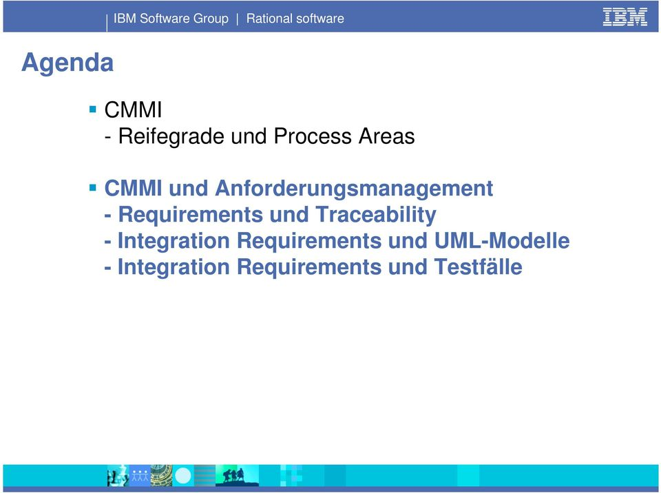 Anforderungsmanagement - Requirements und Traceability -
