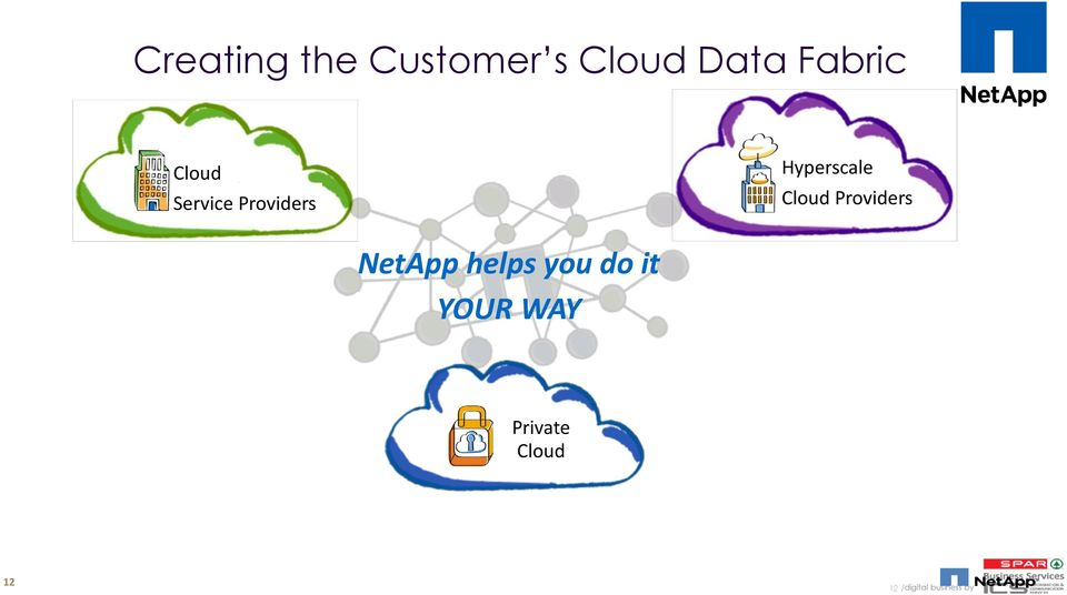 Providers NetApp helps you do it YOUR WAY