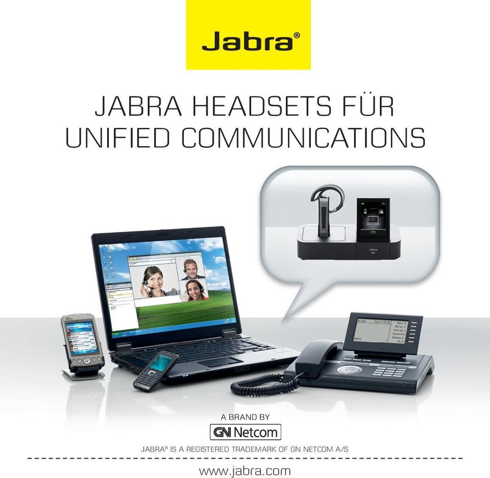 Jabra is a registered
