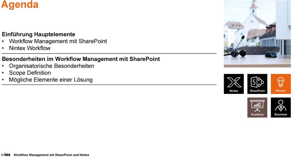 Workflow Management mit SharePoint Organisatorische