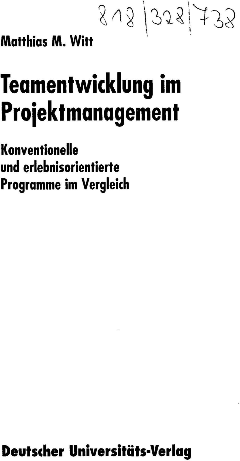 Projektmanagement Konventionelle und