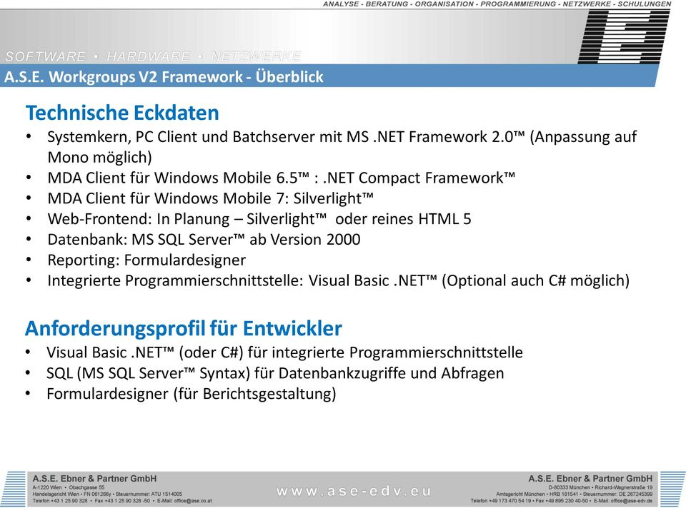 Version 2000 Reporting: Formulardesigner Integrierte Programmierschnittstelle: Visual Basic.
